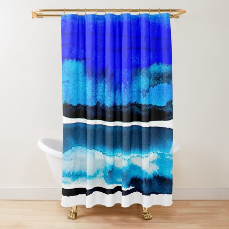 BAANTAL / Lines #3 Shower Curtain