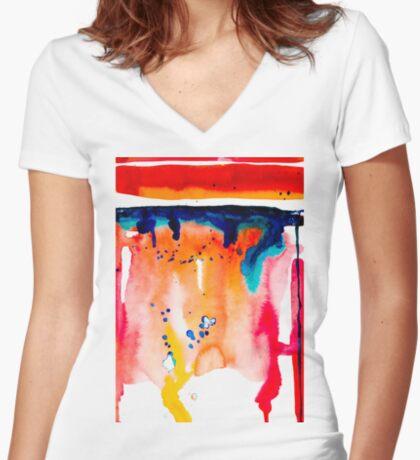 BAANTAL / Pollinate / Evolution #10 Fitted V-Neck T-Shirt