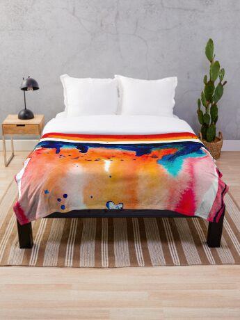 BAANTAL / Pollinate / Evolution #10 Throw Blanket