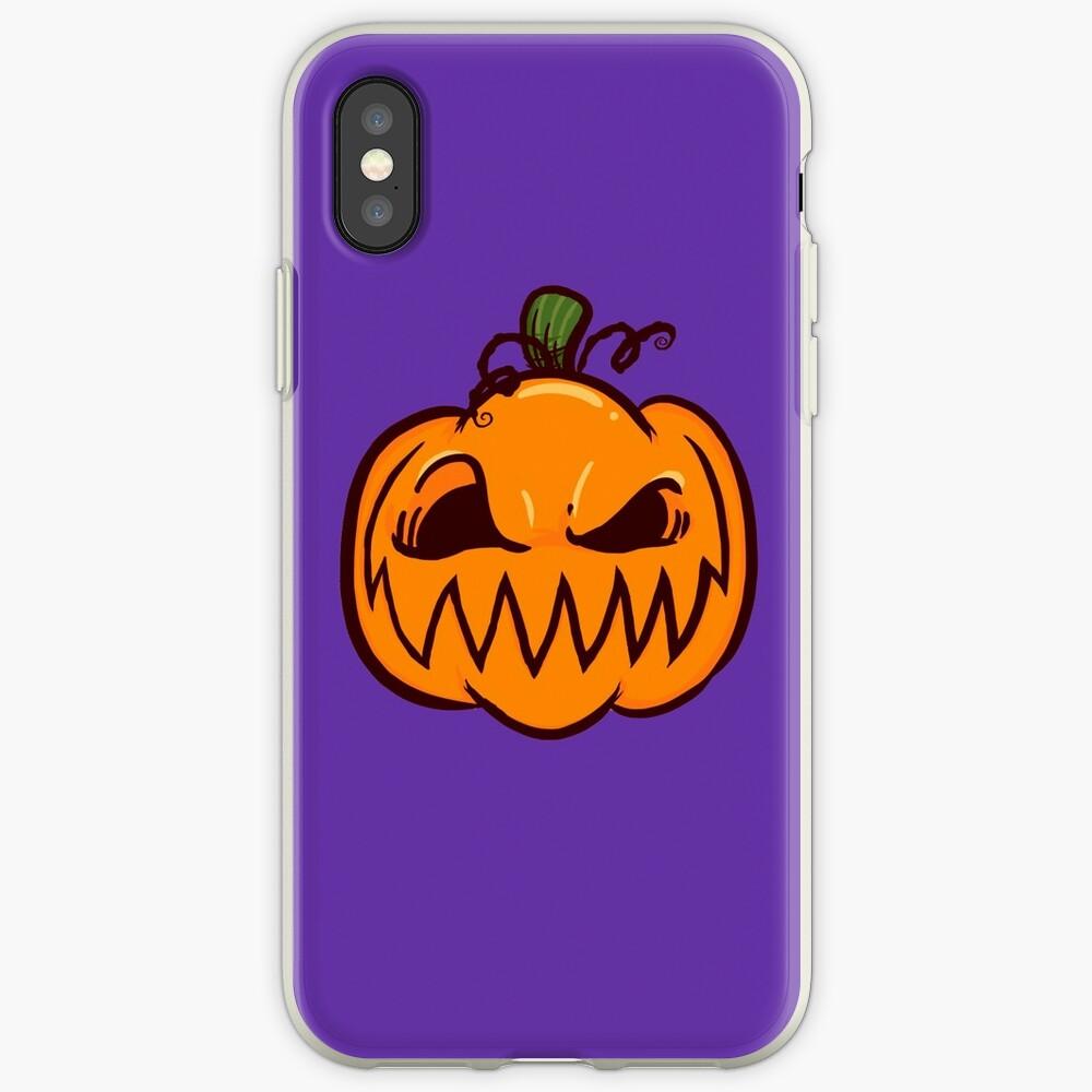 Mischievous Pumpkins iPhone Case & Cover