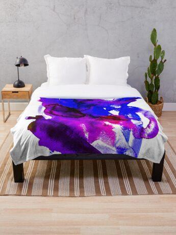 BAANTAL / Patch #7 Throw Blanket