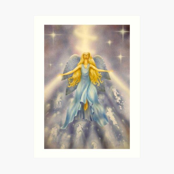 Healing Energy Art Print