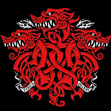 Triple headed dragon knot by narwen