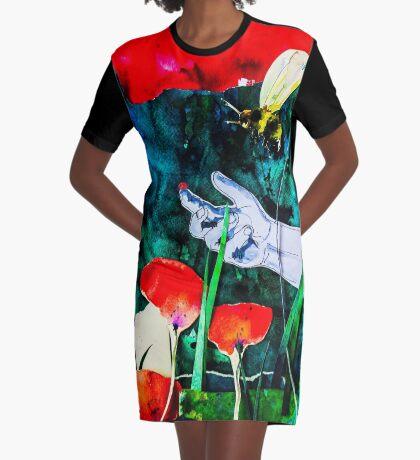 BAANTAL / Pollinate / Evolution #8 Graphic T-Shirt Dress