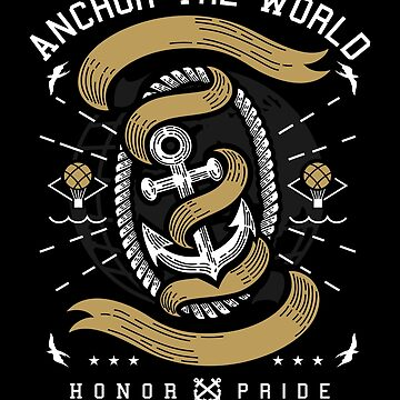 Anchor The World Honor Pride by iwaygifts
