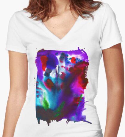 BAANTAL / Pollinate / Evolution #4 Fitted V-Neck T-Shirt