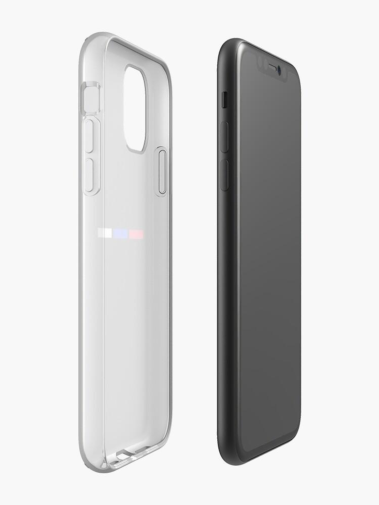 pochette iphone 8 plus gucci , Coque iPhone «Trois bandes», par Nasiputih321