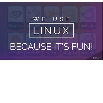 We use Linux because it's Fun by BadMister
