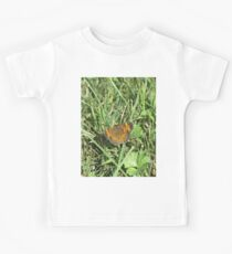 Camiseta para niños Pearl Crescent Butterfly