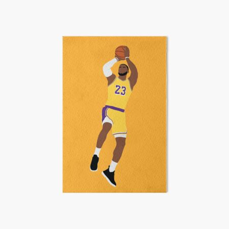 LeBron James Art Board Print