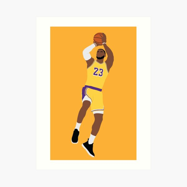 LeBron James Art Print