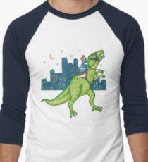 Dino Rider Men's Baseball ¾ T-Shirt