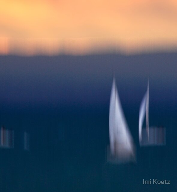 This beautiful Blue......... by Imi Koetz