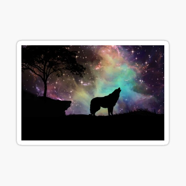 Howl at the Moon Sticker