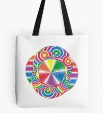 Candy Abstract Design Tote Bag