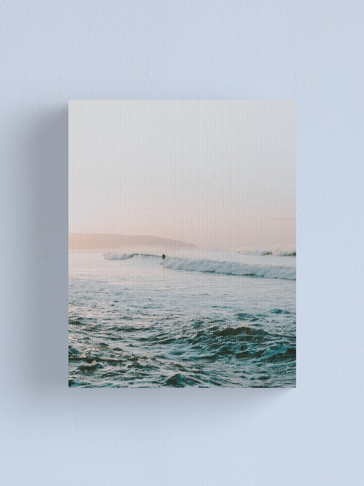 Alternate view of Summer Waves Canvas Print