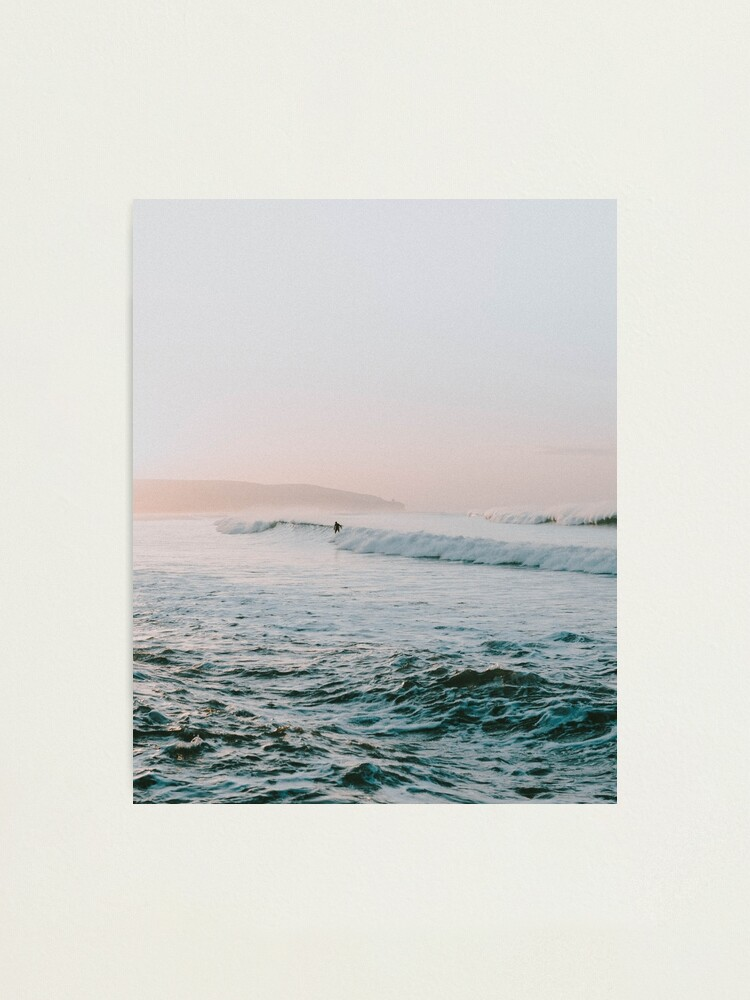 Alternate view of Summer Waves Photographic Print