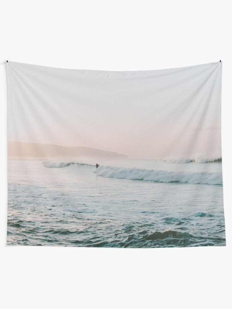 Alternate view of Summer Waves Tapestry