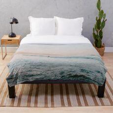 Summer Waves Throw Blanket