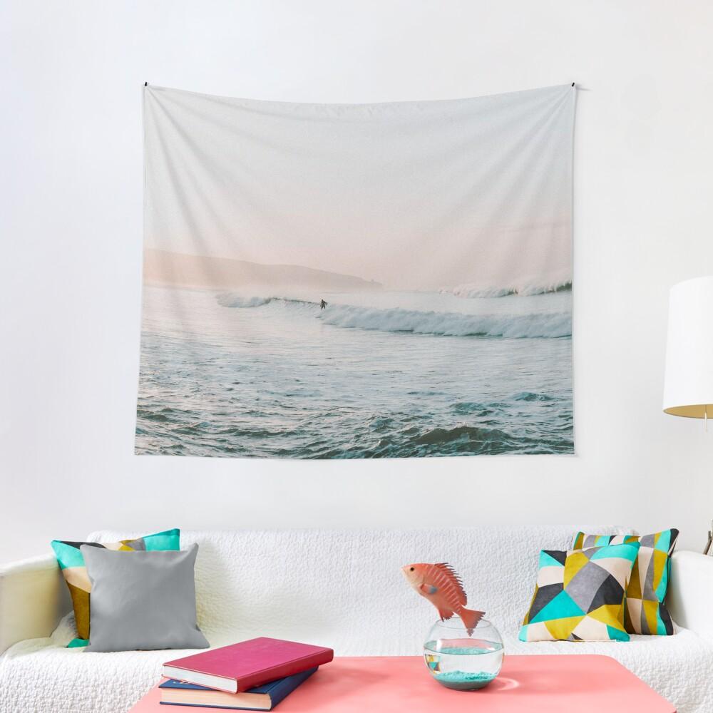 Summer Waves Tapestry