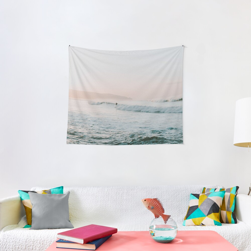 Summer Waves Tapestry