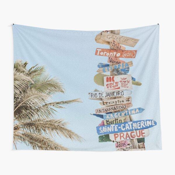 Summer Wanderlust Tapestry