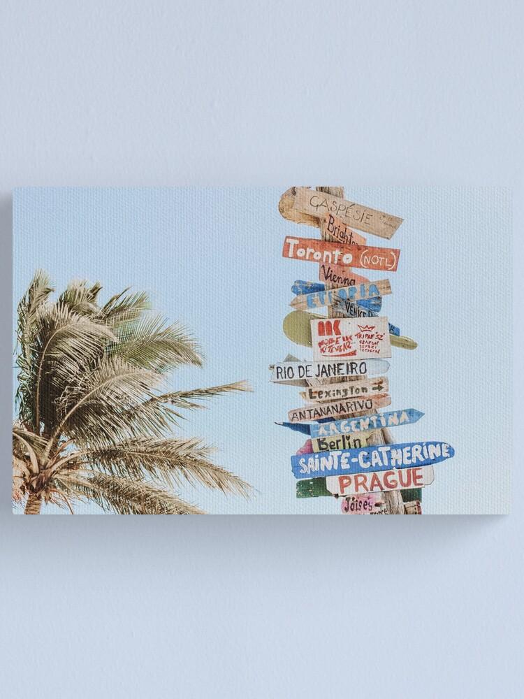 Alternate view of Summer Wanderlust Canvas Print