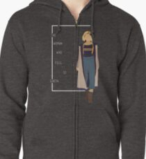 13 the woman who fell to earth Zipped Hoodie