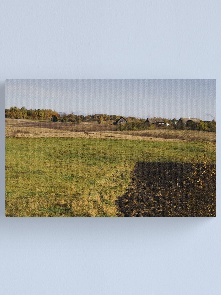 Alternate view of Homestead in autumn Canvas Print