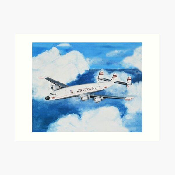 "Lockheed Constellation - ""Connie"" Art Print"