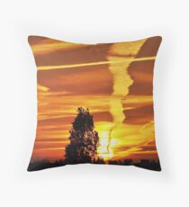 Emissions Throw Pillow