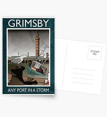 Grimsby - Any Port In A Storm Postcards