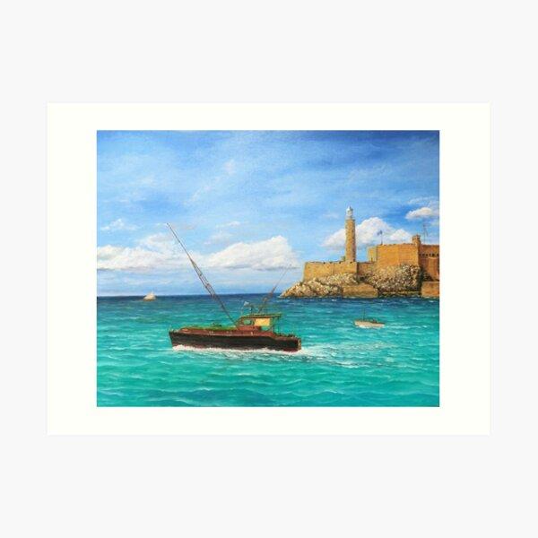 """Pilar"" Ernest Hemingway's Beloved Fishing Yacht Art Print"