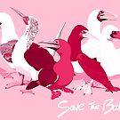 Boobies of the World (Support Breast Cancer Research) by BennuBirdy
