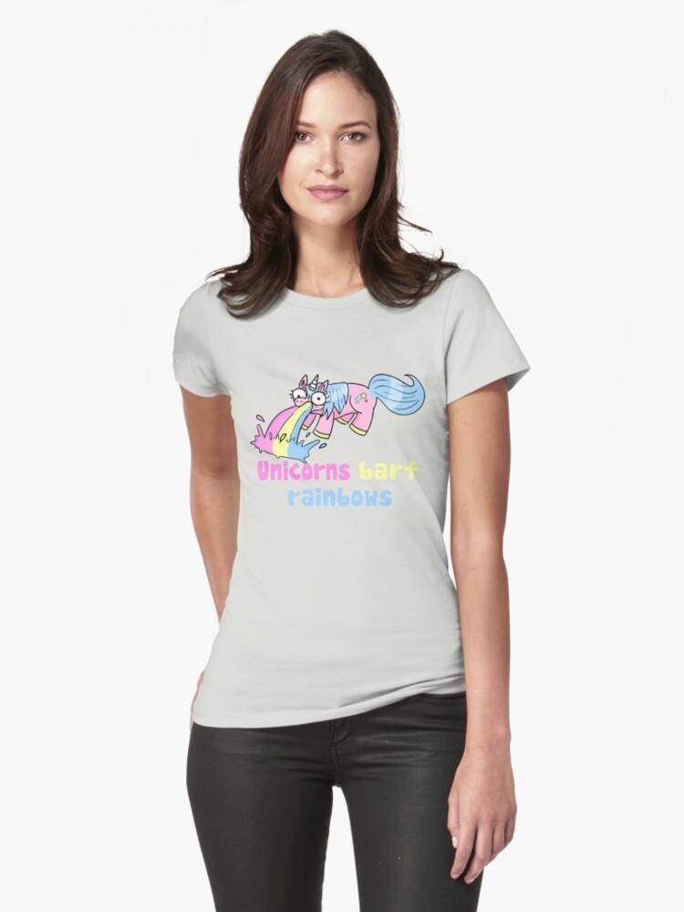 unicorns barf rainbows by Miss K Blower