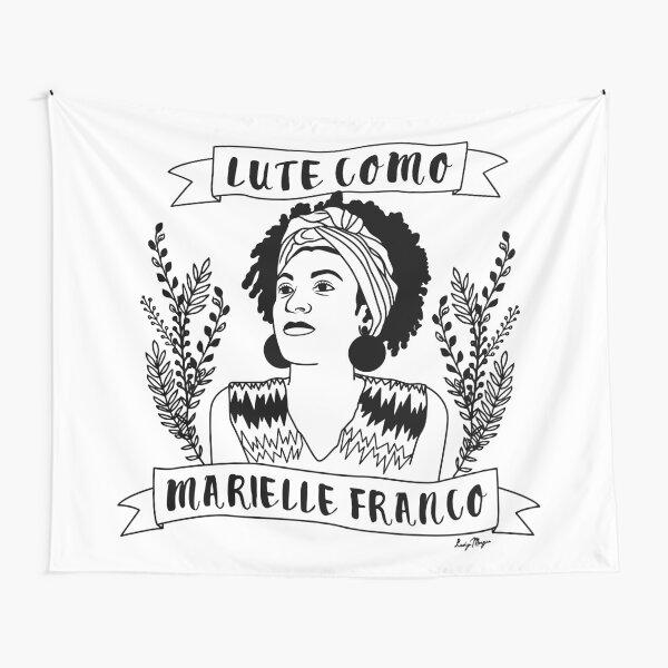 Lute Como Marielle Franco Tapestry