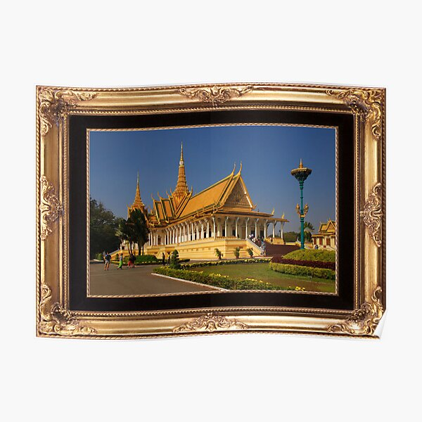Royal Palace, Phnom Penh Poster