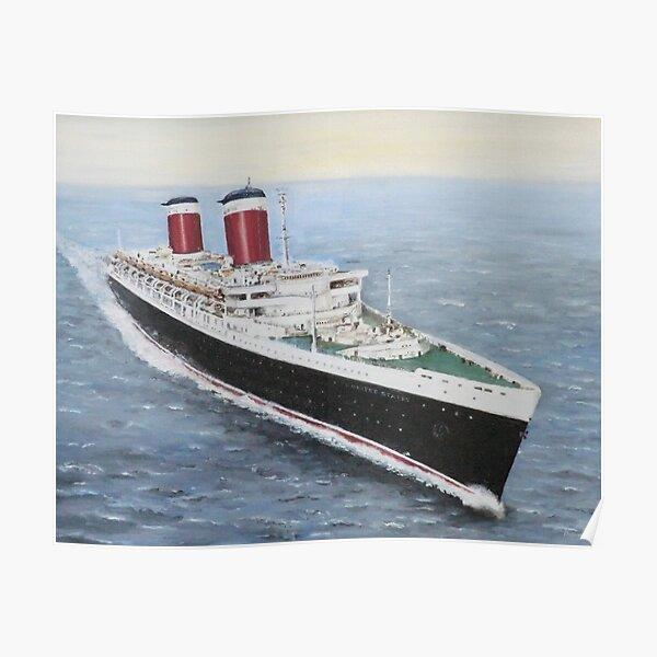 SS United States - Fastest Ocean Liner ever Built Poster