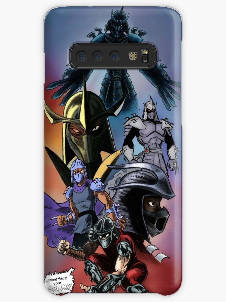 Tmnt Shredder Case Skin For Samsung Galaxy By Rubtox Redbubble