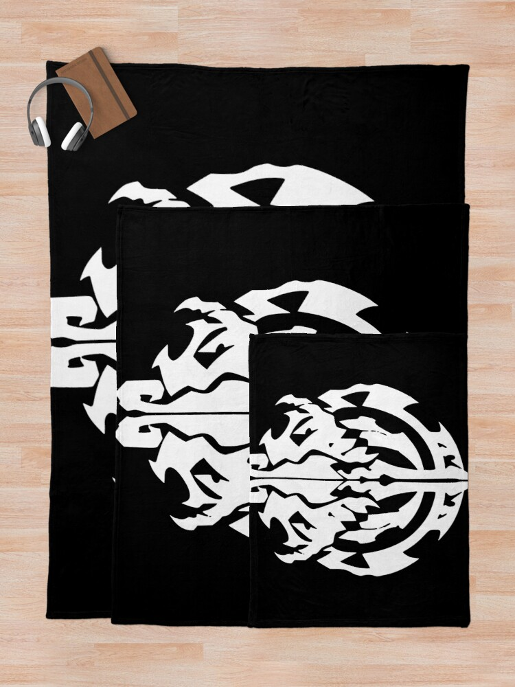 Alternate view of Overlord Nazarick Throw Blanket