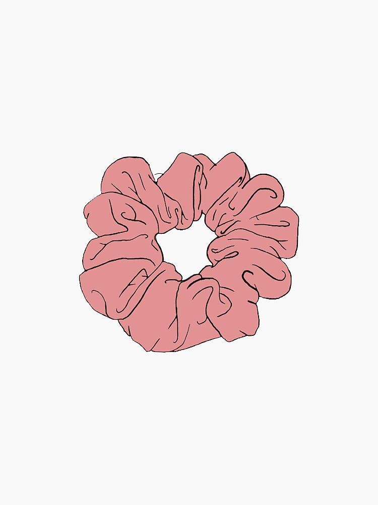 scrunchie rojo de ncorreia117