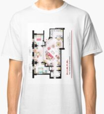 Ted Mosby's apartment from 'HIMYM' Classic T-Shirt