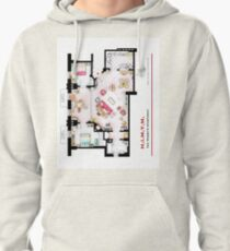 Ted Mosby's apartment from 'HIMYM' Pullover Hoodie