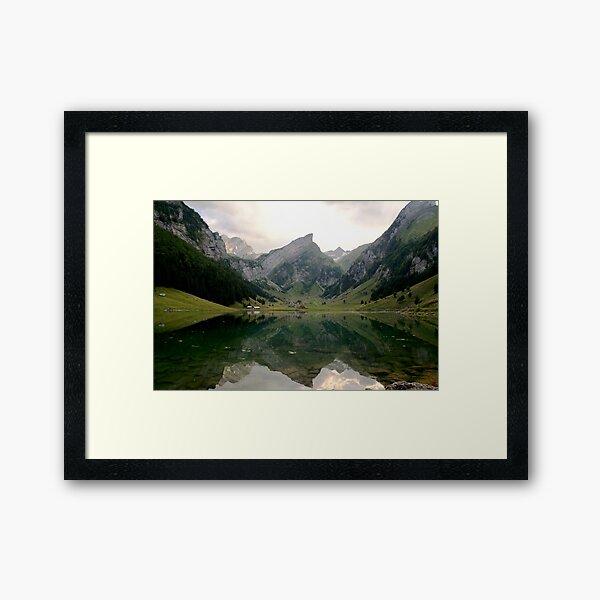Seealpsee, Switzerland Framed Art Print
