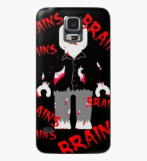 A LOT OF BRAINS - ZOMBIE MINIFIG Case/Skin for Samsung Galaxy