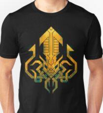Golden Kraken Sigil T-Shirt