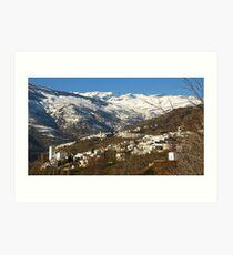The Alpujarras, Spain Art Print