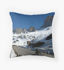 The Dolomites, Italy Throw Pillow