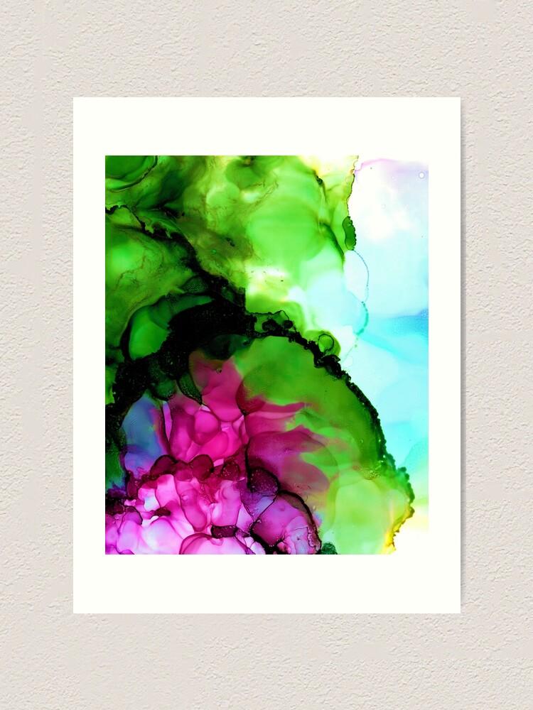 Alternate view of Lily Pond Art Print