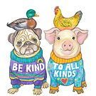 Be Kind to All Kinds by Lynda Bell